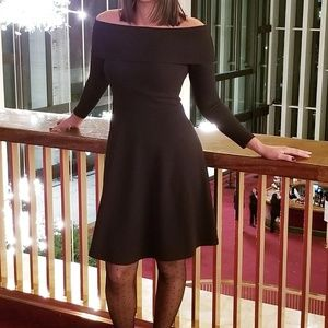 Black Off-the-shoulder Dress Size Small